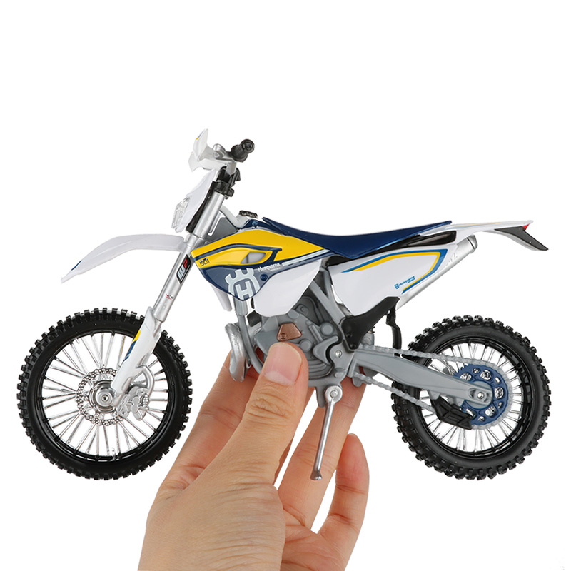 Maisto 1:12 Motorbike Alloy Model Toy Motocross FE 501 Racing Sport Dirt Bike Motorcycle Models Racing Cars Toys For Children