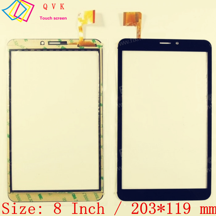 Black New 8 Inch For Prestigio MultiPad PMT3518 4G WIZE 3518 Tablet Touch Screen Touch Panel Digitizer Glass Sensor Replacement