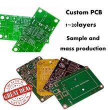 Лучший пользовательский сервис высокое качество пользовательские PCB/сборки блоков печатных плат сервис для всех материалов до 20 слоев