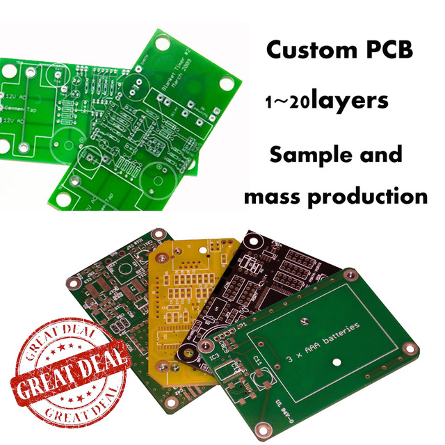 US $1 98 10% OFF|Best Custom Service High Quality Custom PCB/PCBA  assemblies service for all material up to 20 layers-in Rigid PCB from  Electronic