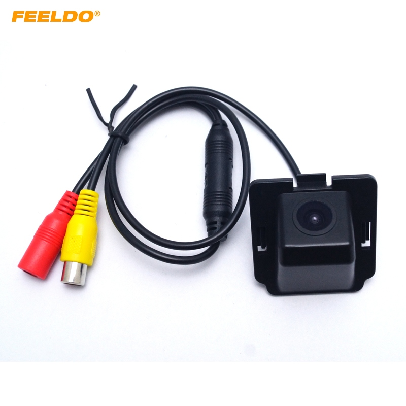 FEELDO 1PC Special Car Reversing Rear View font b Camera b font For Mitsubishi Outlander Waterproof