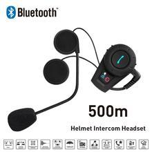 Freedconn 1 шт./компл. 500 м водонепроницаемый мотоциклетный шлем гарнитура Bluetooth домофон спортивные FDC-01VB шлем домофон