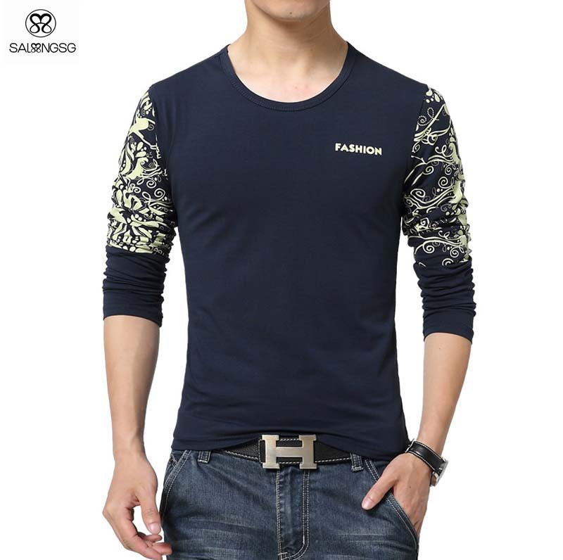 Long sleeve t shirt brands is shirt for Luxury t shirt printing