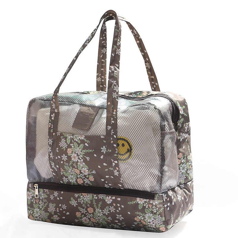 eee36f462b Dry and Wet Separation Male Female Storage Waterproof Bag Bathing Wash Bag  Large Capacity Outdoor Sport