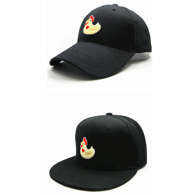 LDSLYJR 2018 Cartoon rooster embroidery cotton Baseball Cap hip-hop cap  Adjustable Snapback Hats for kids and adult size 158 8211fada1bf