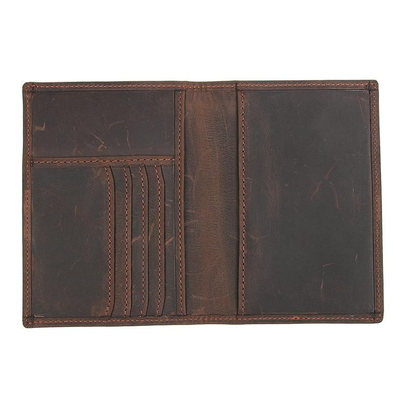 Porte passeport cuir housse passeport porte-cartes portefeuille