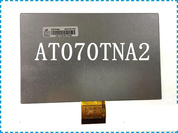 The original, 7 inch LCD screen display AT070TNA2 vehicle DVD navigation A+ screen screen конверт в коляску esspero sleeping bag white натуральная шерсть chocolat rv52425 108068600