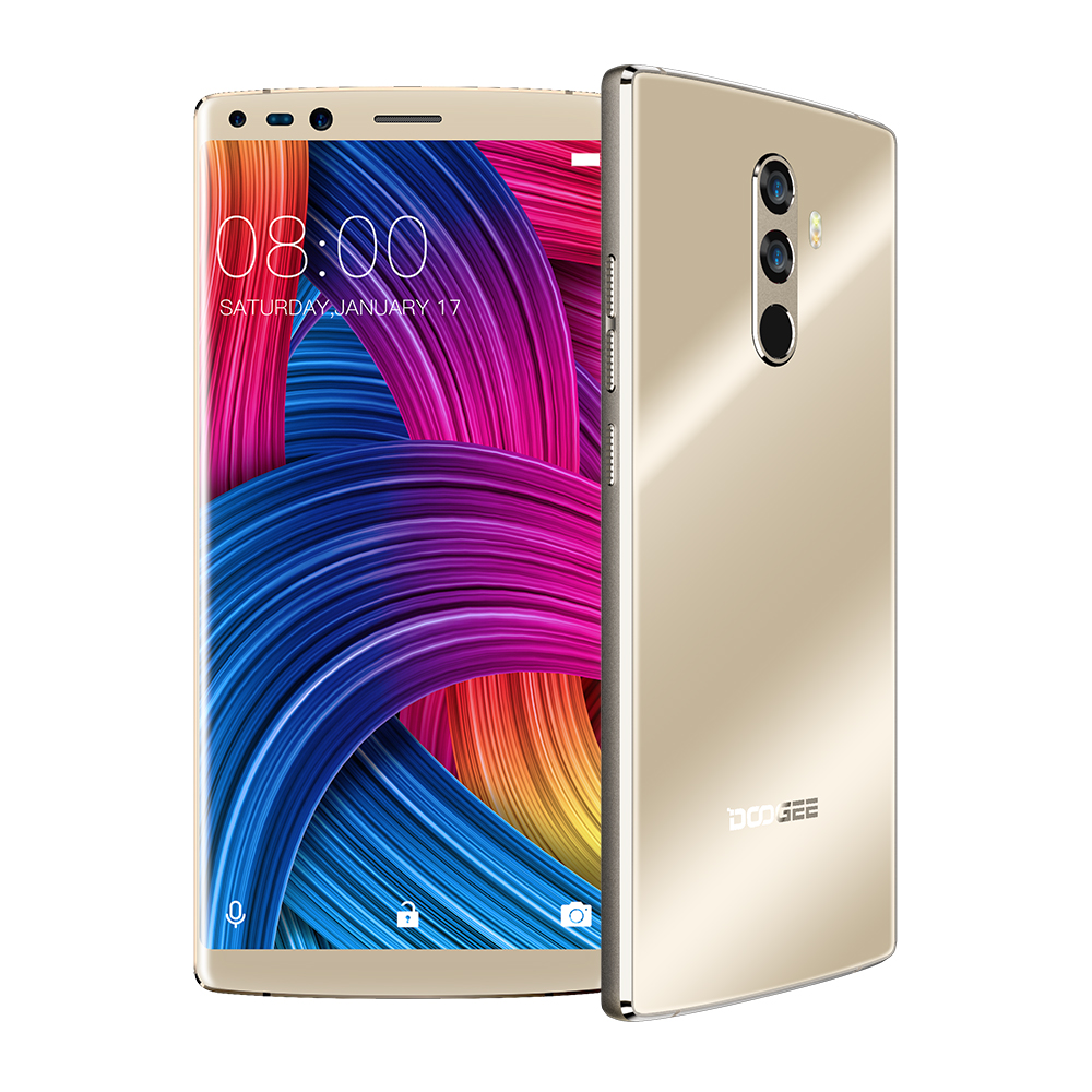 Image 5 - DOOGEE Mix 2 Android 7.1 4060mAh 5.99inch FHD+ Helio P25 Octa Core 6GB RAM 64GB ROM Smartphones Quad Camera 16.0+13.0MP-in Cellphones from Cellphones & Telecommunications