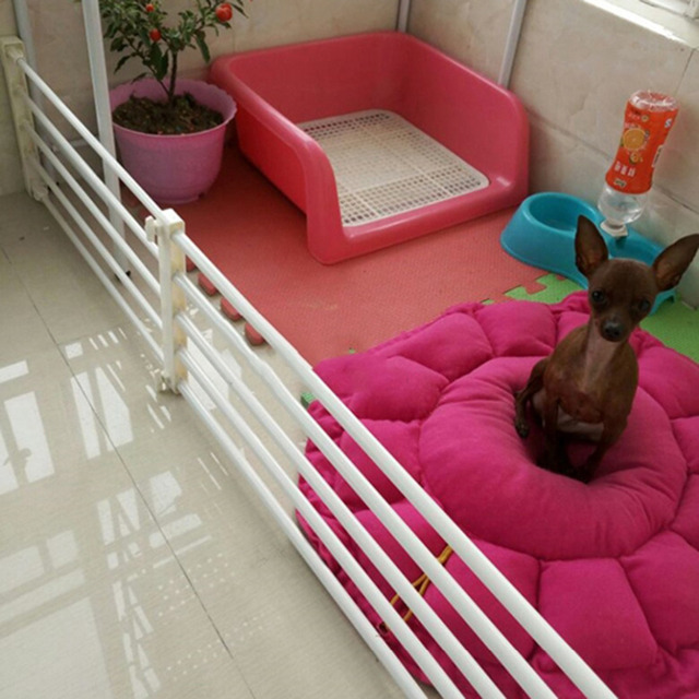 Superbe Pet Dog Fence Baby Gate Playpen For Dogs Indoor Retractable Pet Isolating  Gate Room Plastic Kids