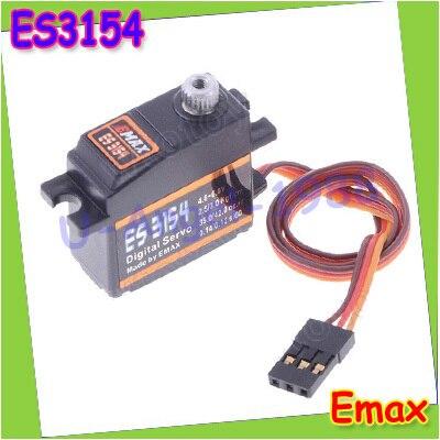 Free shipping EMAX ES3154 Digital Metal Servo For RC Helicopter Boat Airplane ES08A ES08MA ES08MD wholesale