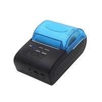 Bluetooth Protable Thermal label printer Thermal Printer Mini 58mm POS Receipt Printer