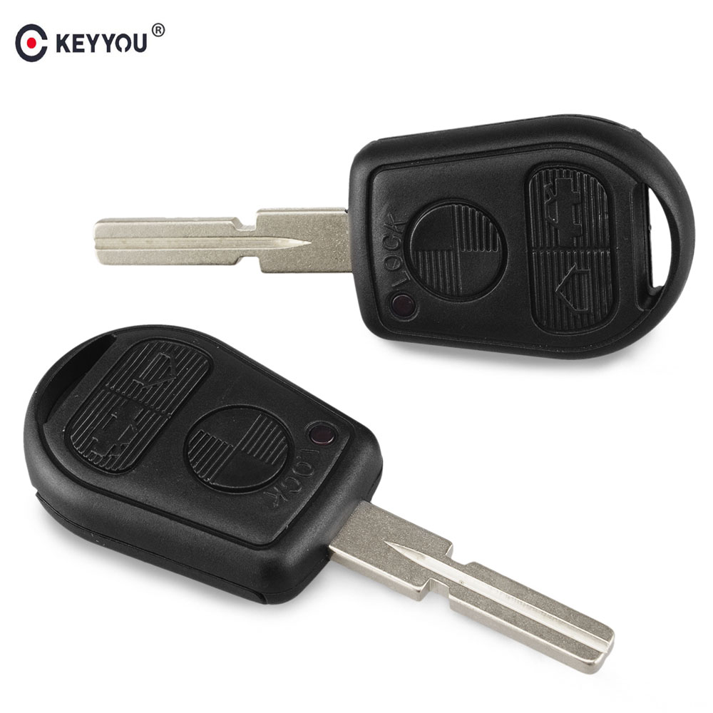 KEYYOU Replacement Remote Key Case Shell Fob 3 Button For BMW 5 7 Series E31 E32 E34 E36 E38 E39 E46 Z3 740i 323i 540i 535i KeyKEYYOU Replacement Remote Key Case Shell Fob 3 Button For BMW 5 7 Series E31 E32 E34 E36 E38 E39 E46 Z3 740i 323i 540i 535i Key