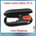 Alta Calidad TC-5 Longitudinal Cortador de Cable Vaina Cortadora Chaqueta Stripper De Fibra Óptica