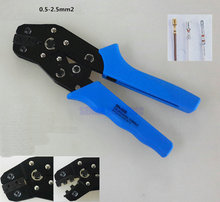 Crimping Tool Piler Capacity 0.25-2.5mm2 24-4AWG For Insulated Terminals