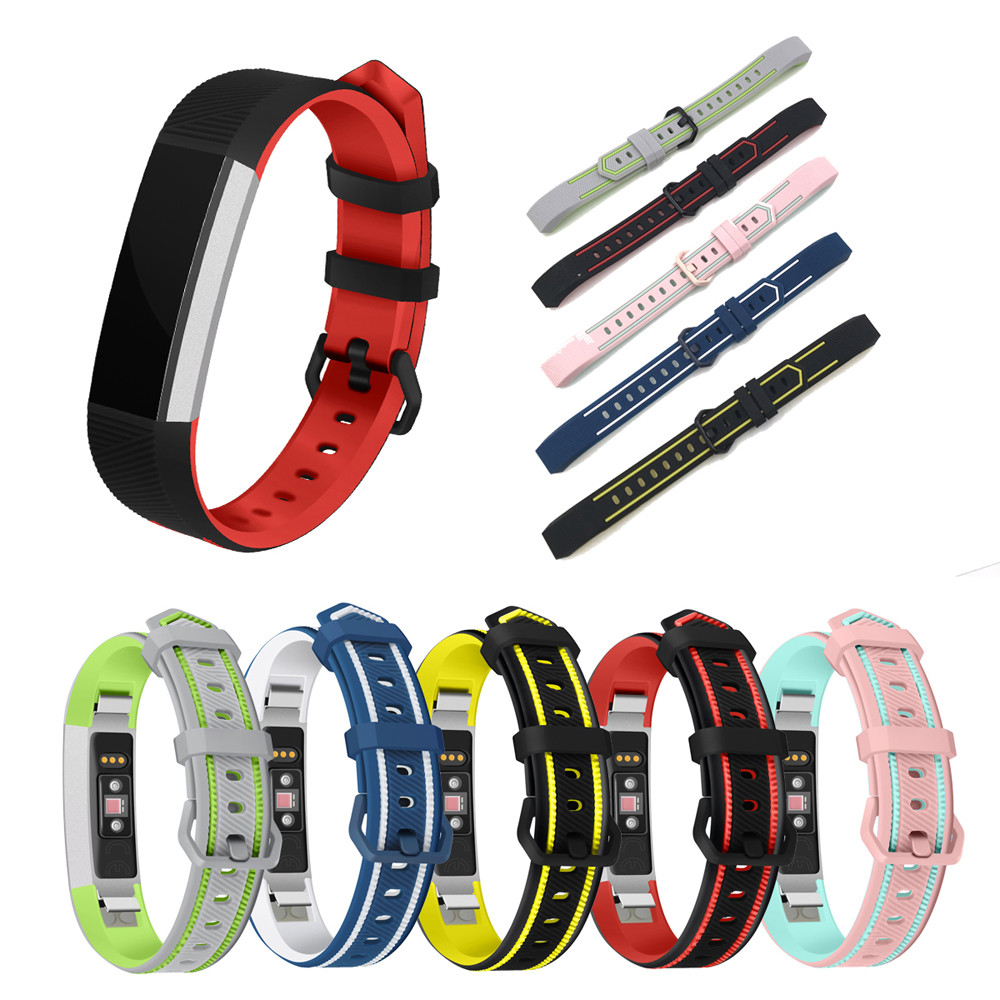 Silicone strap For Fitbit Alta/Alta HR width 15mm For Fitbit Alta/Alta HR Classic watch band D4 lnop nylon rope survival strap for fitbit alta alta hr replacement band bracelet wristband watchband strap for fitbit alta