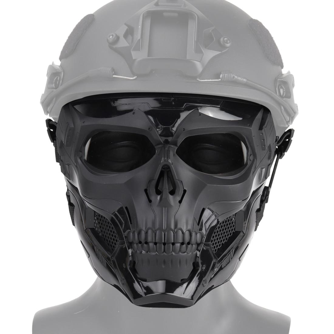 WST MODIKER 2019 Nova Crânio Máscara Tático Jogos Halloween Party Dress Up Festa Para Airsoft Máscara Facial para UMA RÁPIDA Ao Ar Livre atividade