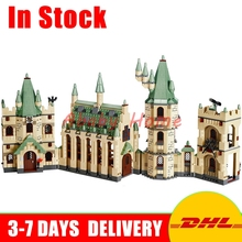 DHL En Stock Lepin 16030 Film Série Le Harry Potter Poudlard Château Éducatifs Blocs de Construction Briques Modèle Jouets Clone 4842