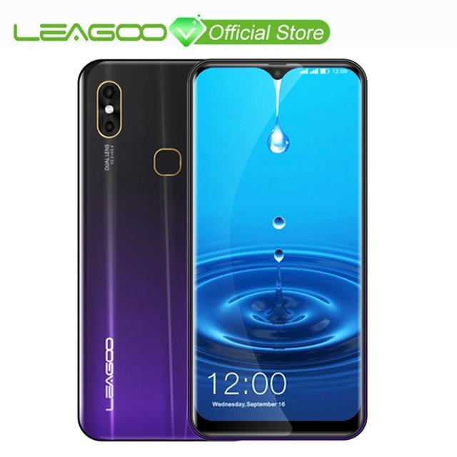 """LEAGOO M13 Android 9,0 19:9 6,1 """"водослива смартфон 4 Гб Оперативная память 32 ГБ Встроенная память MT6761 4 ядра отпечатков пальцев Face ID 4G мобильный телефон"""