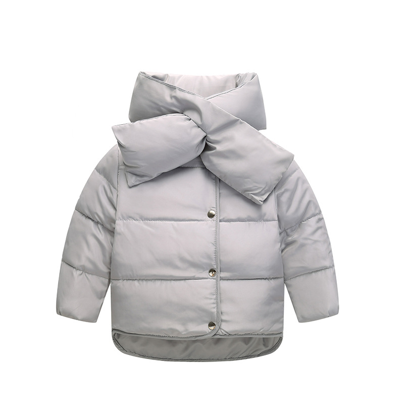 ФОТО Baby Girls Down Coat Jacket Parka Winter Warm Jacket Cotton Down Bow Kids Children Snow Outerwear Coat