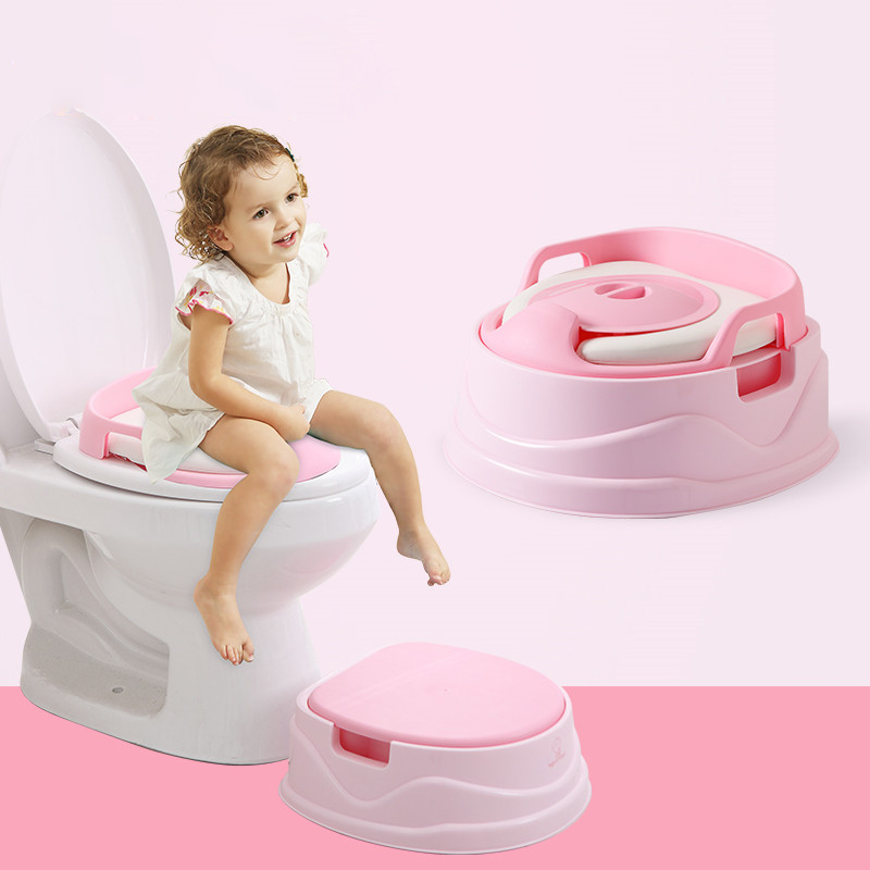 3 In 1 Colorful Potty Pee Trainer For Baby Training Potty