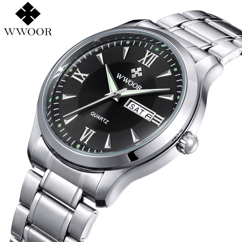 Luxury Brand Men Casual Quartz Watch Men Luminous Hour Date Clock Male Sports Watch Stainless Steel Wristwatch relogio masculino men watches top brand luxury day date clock male stainless steel casual quartz watch men sports wristwatch