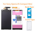 2 Color LCD Display For Sony Xperia Z5 Compact mini E5803 E5823 Touch Screen Digitizer Assembly with Adhesive+Tools