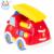 Bebé de juguete musical eléctrico de juguete camión de bomberos con luces y música kids educational toys leaguage enseñanza de español e inglés