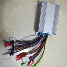 350 Вт, 36 В, 48 вольтового источника электропитания постоянного тока бесщеточный контроллер 3 фазы линии для электрического скутера велосипеда