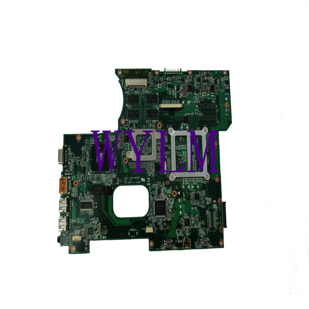 K42JR Motherboard For ASUS Laptop Mainboard X42J K42J REV 4.0 fit for K42JB K42JZ K42JY HM55 HD 5470 Full tested Free shipping