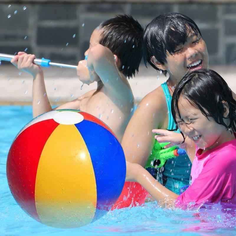 ฤดูร้อนสระว่ายน้ำเด็ก Inflatable ของเล่นเด็กชายหาดกลางแจ้งน้ำเล่นลูกบอลเกมหลากสี PVC Float Ball