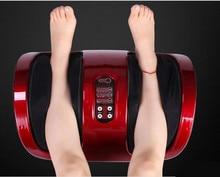 Electric Heating Air Pressure Foot Massager Shiatsu Kneading Roller Foot Machine Reflexology Calf Leg Pain Relief Relax