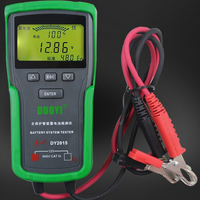 Car Battery Tester 12V Car Battery System Tester Capacity Maximum Electronic Load Battery Charge Test Diagnostic Tools