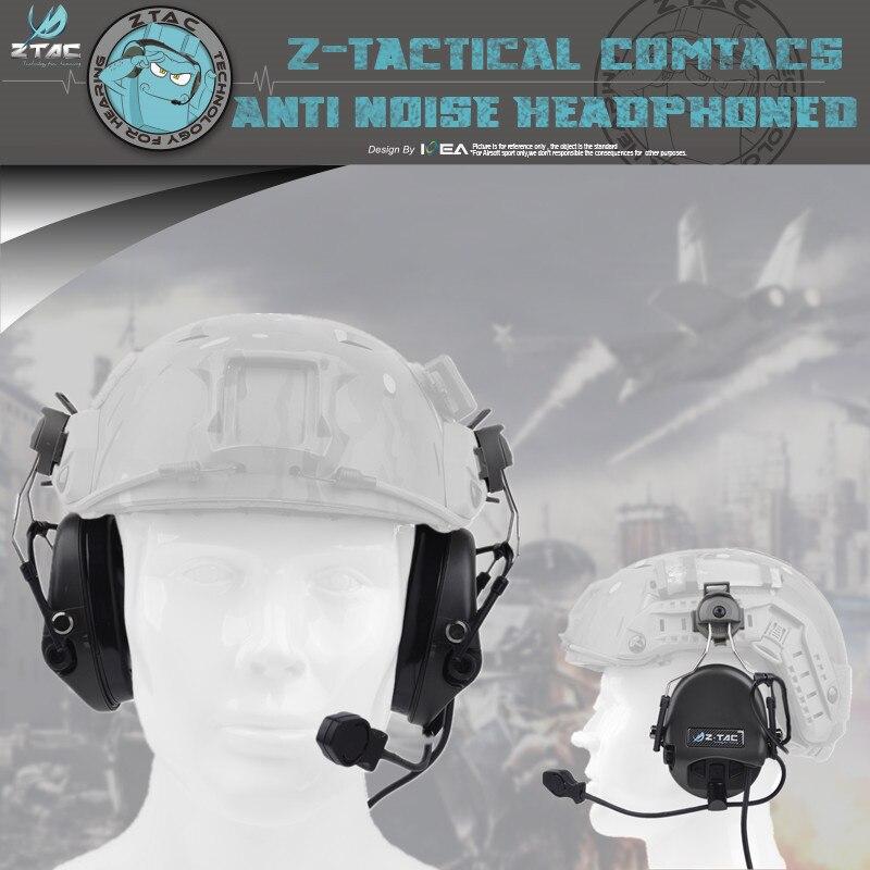 Z-Tactical Z034 Sordin Headset For Fast Helmet Rail Adapter Headset New Arrivals Sordin Headset For Fast Helmets Anti-noise