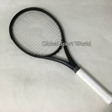 2016 NEW Taiwan 2015 customs Black Tennis Racquets 100% graphite tennis rackets 41/4,43/8,41/2 Free shipping(China)