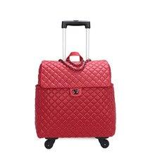 """Carrylove 1"""" дюймовый маленький кожаный чехол на колесиках для путешествий для девочек"""