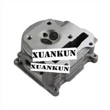 XUANKUN автомобиля GY6 50 модифицированный 100cc Головка блока цилиндров цилиндр в сборе Мотоцикл Скутер