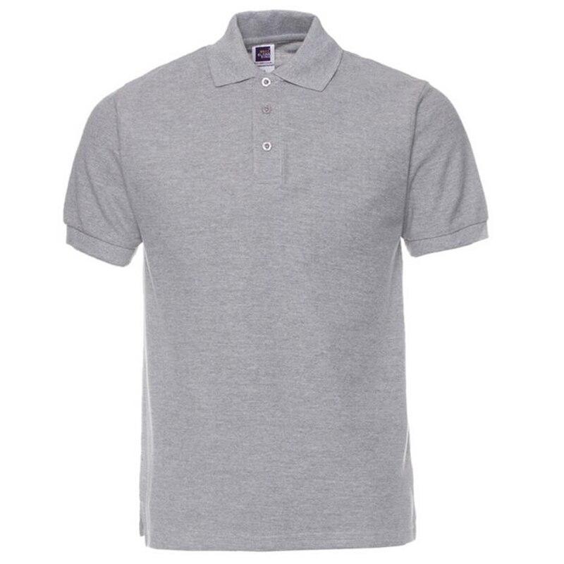 5d87999a7 PoloShirt Men Brand Clothes Solid Color Tee Shirts Camisa Masculina Mens  Casual Cotton Short Sleeve Shirt