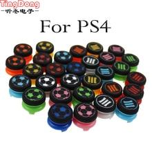 TingDong pour Sony Dualshock 4 DS4 doux analogique Joystick poignées casquettes pour PS4 contrôleur miniatures extensions augmenter bouchon à bascule