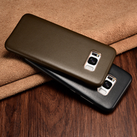 Original XOOMZ For Samsung Galaxy S8 S8 Plus Edge Case Luxury Super Touch Feeling Genuine Leather