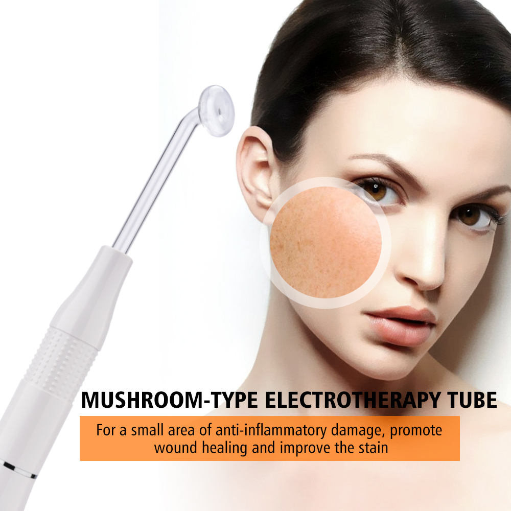7 In 1 Wands Tube High Frequency Spot Acne Remove Face Hair Body Skin Spa Massage Facial Skin Care Device Machine Beauty Kit
