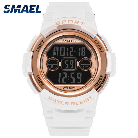 Children Watches SMAEL 50M Waterproof Kids Watches For Girls And Boy 1632B  Sport Wristwatches Led ALarm Clock  Watch Digital Pakistan