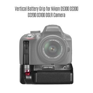 Image 3 - EN EL verticale 14 del supporto della presa della batteria alimentato a batteria con telecomando di IR per la macchina fotografica di Nikon D5300 D3300 D3200 D3100 DSLR