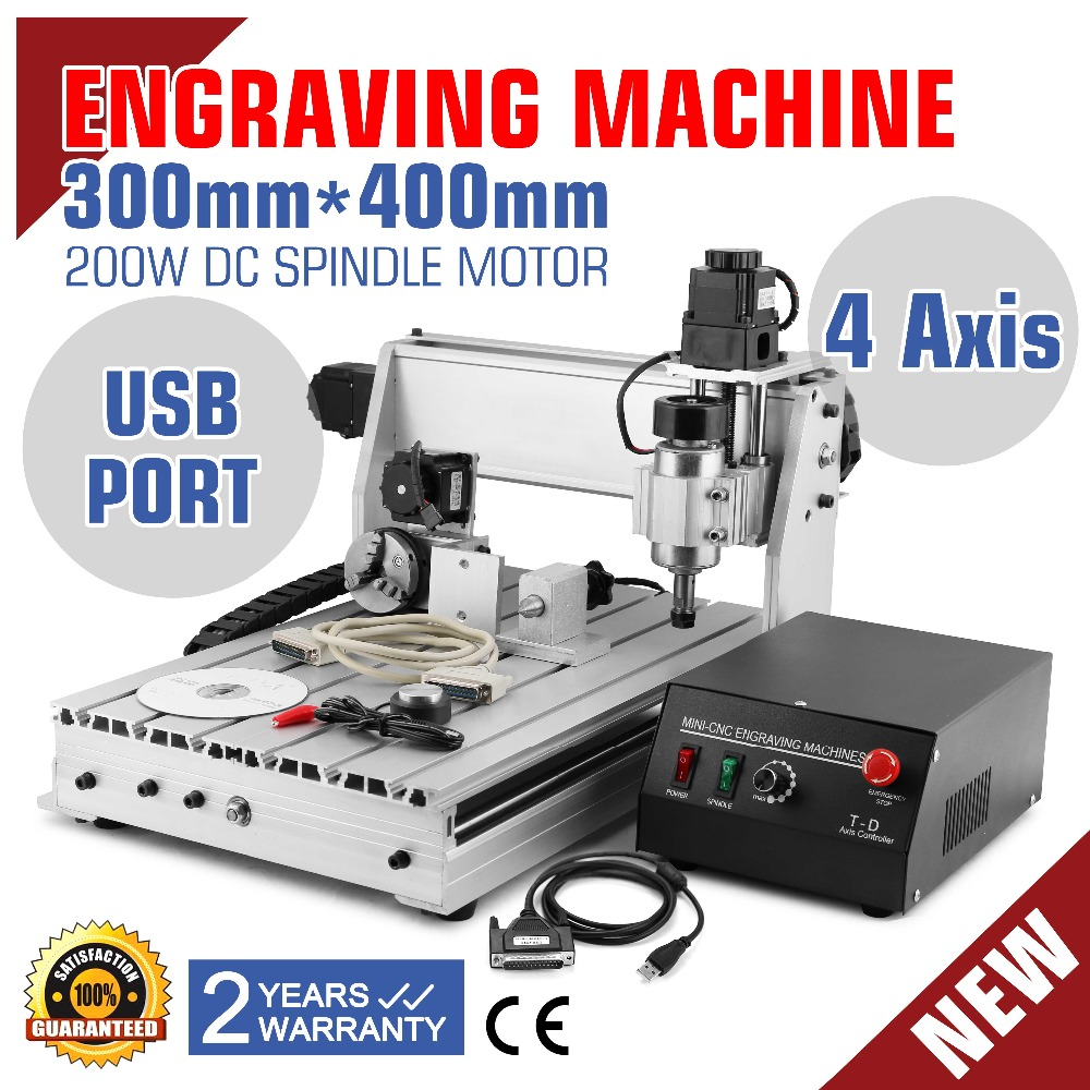 High Quality CNC 3040T ROUTER ENGRAVER ENGRAVING DRILLING MILLING EQUIPMENT 4 AXIS DESKSTOP CNC HIGH QUALITY PRODUCTS