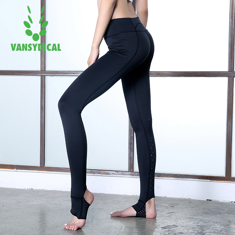 QZ Fitness Store 2017 Brand New Women Sexy Yoga Pants Dry Fit Sport Pants Fitness Gym Pants Workout Running Tight Sport Leggings Female Trousers