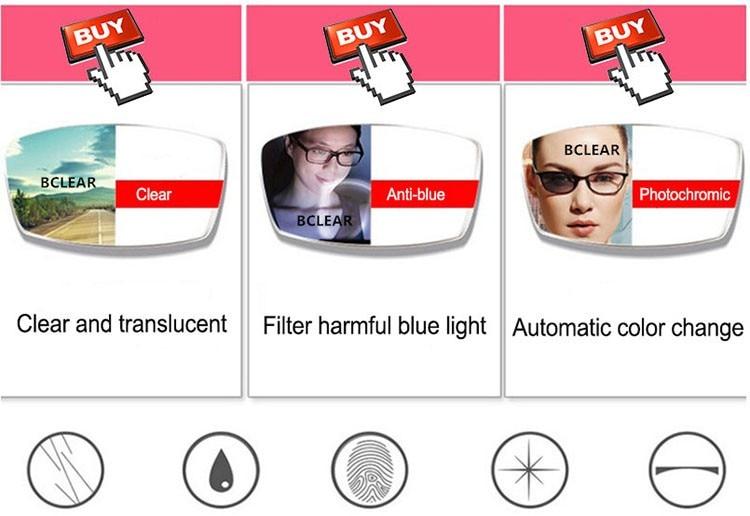 3eadcb06b Click here to Buy Now!! BCLEAR جديد وصول البصرية إطار شبه بدون شفة النظارات  الطبية سبائك نصف إطار النظارات الأعمال الرجال إطار مشهد