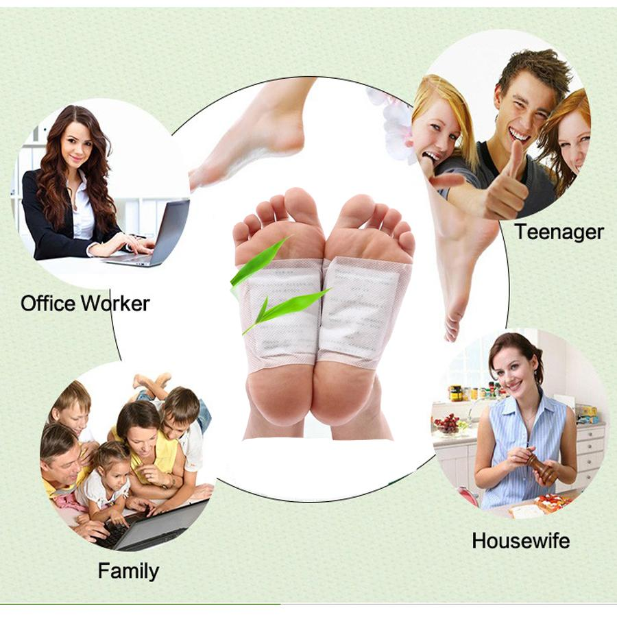 1pcs Foot Pad Patch Bamboo Body Massager Relaxation Help Sleep Feet Care Pain Tens Stress Relief Plaster C033 11