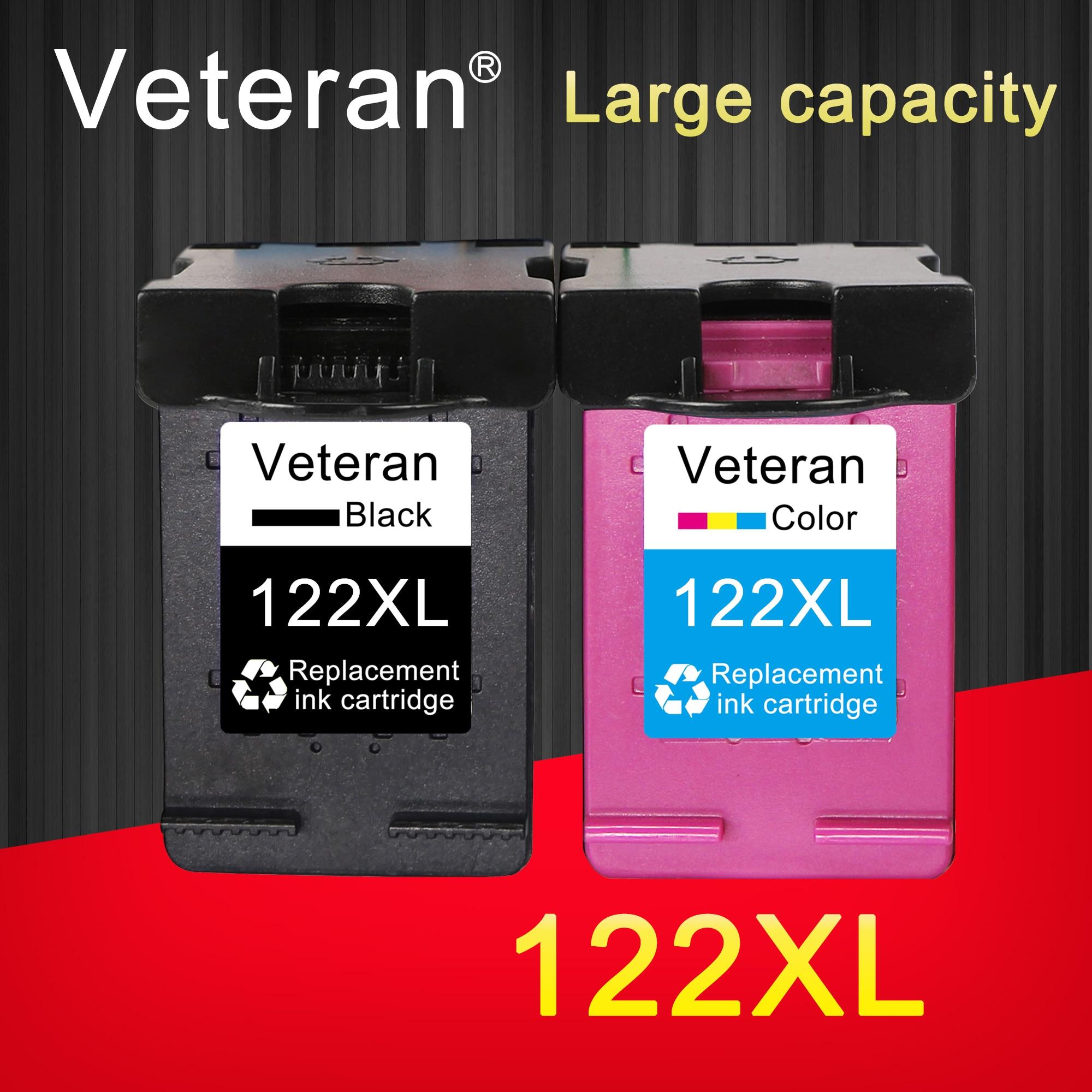 Ветеран 122XL Замена для hp картридж 122 xl для Deskjet 1510 2050 1000 1050 1050A 2000 2050A 2540 3000 3050 3052A принтер