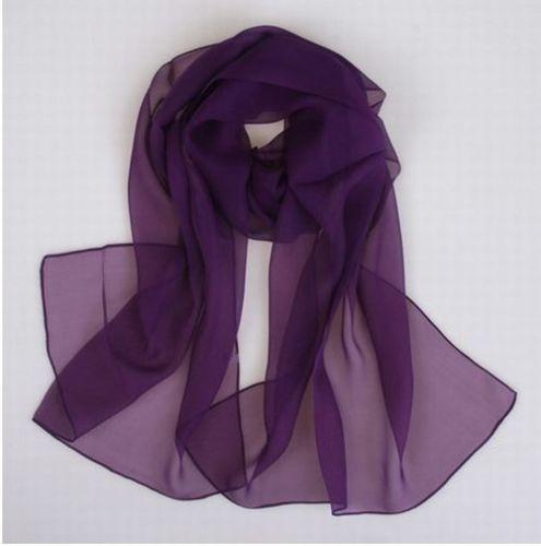 5ee38bc919775 Women chiffon scarf Black, dark red, light blue, rose, dark green, purple  190x45 cm-in Women's Scarves from Apparel Accessories on Aliexpress.com    Alibaba ...