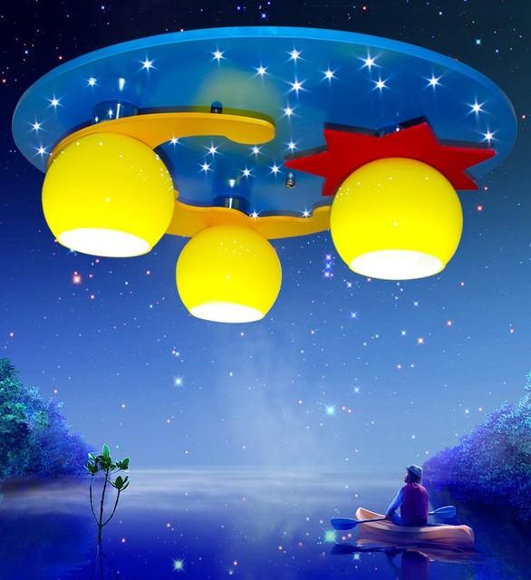 Modern Re Children S Bedroom Chandelier Lamps Led Lights Cute Cartoon Chandeliers Lighting For Aac 90