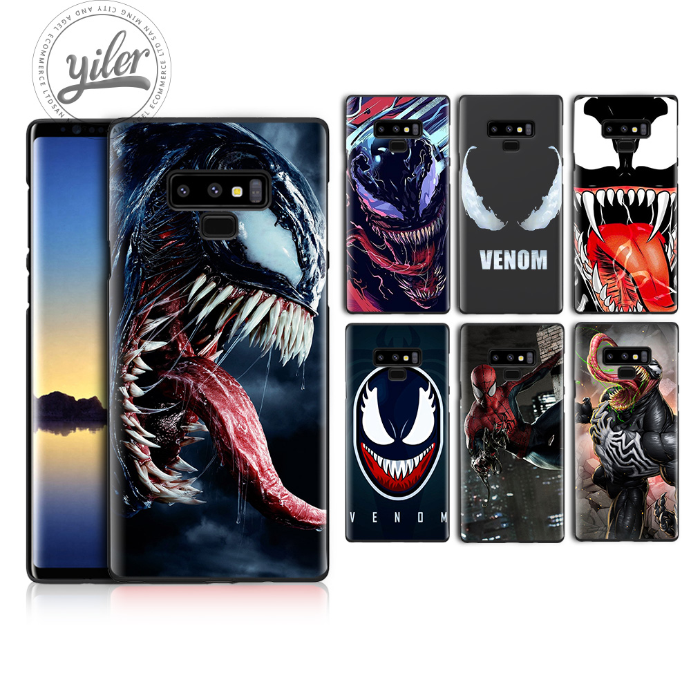 Fashion Venom For Samsung Galaxy Note9 case for A7 2018 Note 8 9 A50 A530 cover A72018 A8